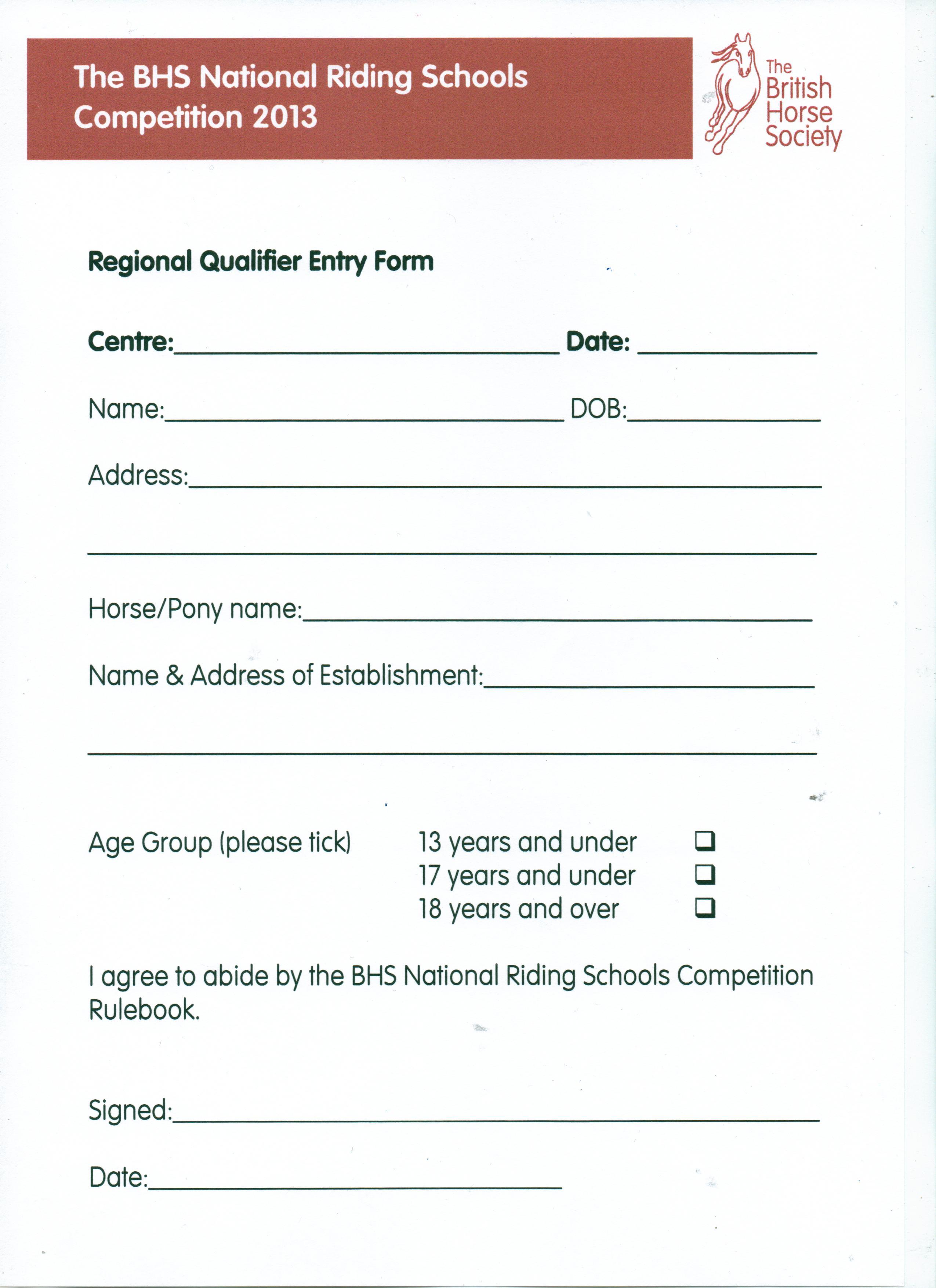 BHS Riding Schools Equitation Competition | Laurelview
