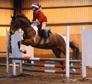 Katie & Tinker ride into the top spot