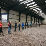 Socially distanced training