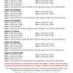 Winter 2020-2021 Dressage Schedule